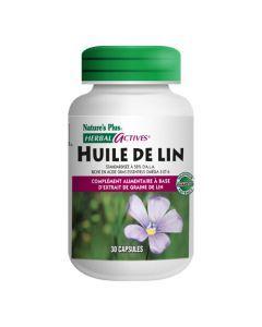 Nature's Plus Huile De Lin 1300Mg 30 capsules