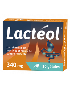 Lactéol 340 mg 10 gélules