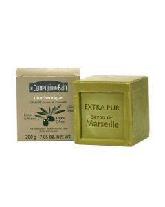 Le Comptoir du Bain L'authentique - Savon cube 200 g à l'huile d'olive