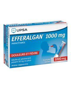 UPSA Efferalgan 1000mg Granulés en Sachet x8 Sachets
