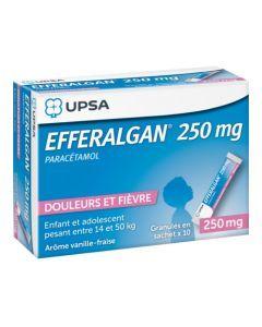 UPSA Efferalgan 250mg granulés en sachet