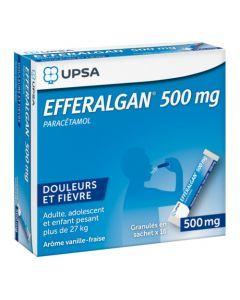 UPSA Efferalgan 500mg Granulés en Sachet x16 Sachets