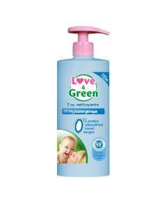 Love & Green Eau Nettoyante Hypoallergénique 750ml