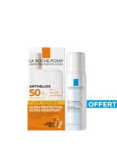 La Roche-Posay Anthelios Fluide Invisible SPF50+ 50 ml + Eau Thermale 50ml Offerte