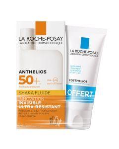 La Roche-Posay Anthelios Shaka Fluide Solaire SPF50 50ml + Après Soleil Posthelios