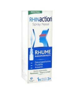 Laboratoire de la Mer Rhinaction Spray Nasal 20 Ml