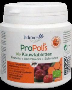 Ladrôme Propolis Comprimés Acérola Echinacée Bio Pot 40 Comprimés