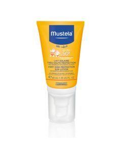 Mustela Lait Très Haute Protection SPF 50+ Spécial Visage Tube 40ml