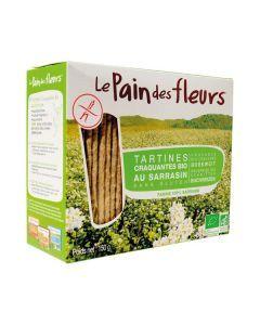 Le Pain des Fleurs Tartines Craquantes au Sarrasin Bio 150g