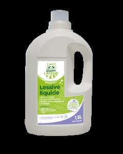 Green Laveur Lessive Liquide Huile Essentielle de Lavandin 1,5L