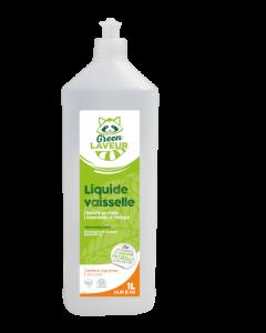 Green Laveur Liquide Vaisselle Agrumes 1L