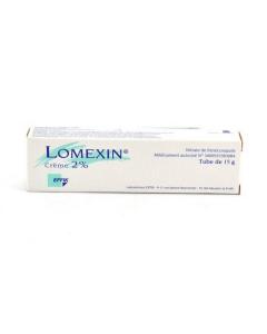 Lomexin 2 pour cent crème 30g