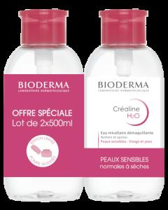 Bioderma Créaline H2O Solution Micellaire Édition Limitée 2 x 500ml