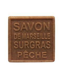 """MKL Savon De Marseille Surgras """"Pêche"""" 100Grs"""