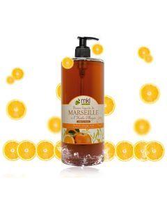 MKL Savon Liquide De Marseille Orange & Miel 1L