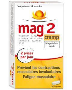 Mag 2 Cramp Magnésium Marin 30 Comprimés