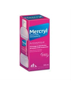 Mercryl Solution Moussante Antiseptique 300ml