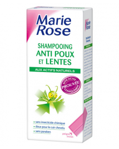 Marie Rose Shampooing Anti Poux et Lentes 125 Ml