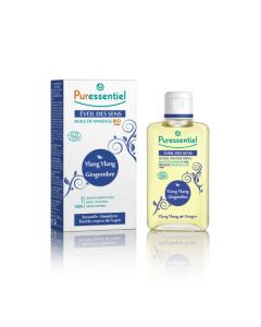 Puressentiel Huile de massage BIO Eveil des sens - 100 ml