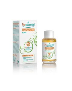 Puressentiel Huile Massage Ventre aux 15 Huiles Essentielles - 50 ml