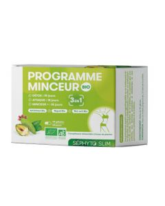 Séphyto Slim Programme Minceur 3 en 1 Bio 45 Gélules