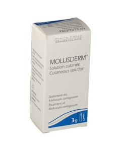 Molusderm Solution Cutanée 3g