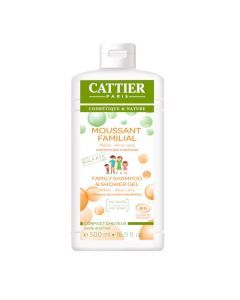 Cattier Moussant Familial Sans Sulfates 500ml