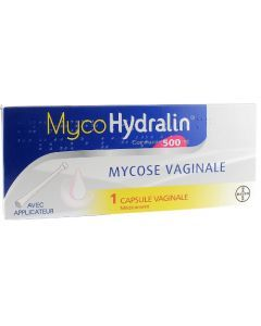 MycoHydralin Capsule Vaginale 500mg 1 capsule
