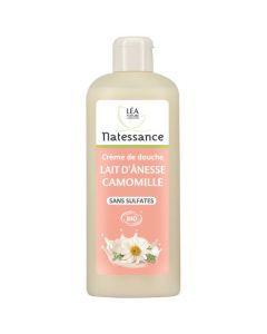 Natessance Crème De Douche Lait D'Anesse Camomille Sans Sulfates 500ml