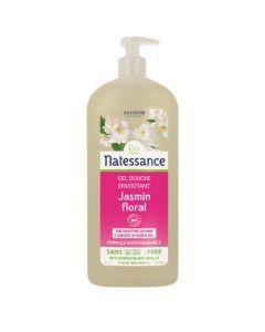 Natessance Gel Douche Jasmin Floral Sans Sulfates 1L