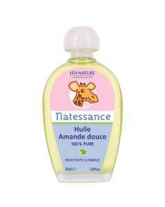 Natessance Huile D'Amande Douce Bio 50ml