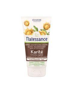 Natessance Après-Shampooing Baume Karité & Kératine Végétale 150ml