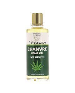 Natessance Huile De Chanvre - 100% Pure 100ml