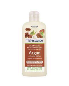 Natessance Shampooing Anti-Âge Argan & Kératine Végétale 250ml