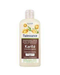 Natessance Shampooing Crème Karité & Kératine Végétale 250ml