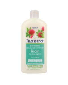 Natessance Shampooing Réparateur Fortifiant Ricin et Kératine Végétale