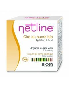 Netline Cire au Sucre de Cannes Bio 250ml