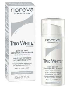 Noreva Led Trio White Soin de Nuit Dépigmentant Intensif 30ml