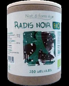 Nat&Form Radis Noir Bio Eco Responsable 200 Gélules