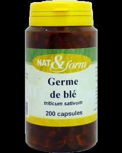 Nat&Form Germe de Blé 200 Capsules