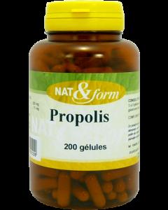 Nat&form Propolis 200 Gélules