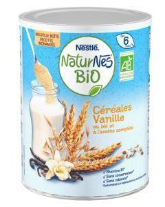 Naturnes Céréales Bio Vanille Boîte 240g