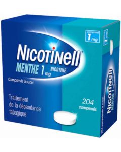 NICOTINELL Menthe 1mg 204 comprimés à Sucer