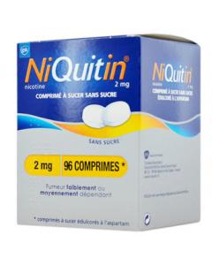 Niquitin 2 mg menthe douce sans sucre 96 comprimés