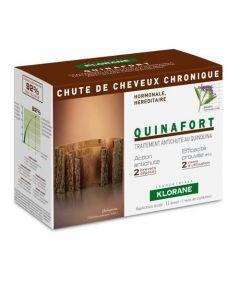 Klorane Capillaire Quinafort Chute Chronique 12 Ampoules