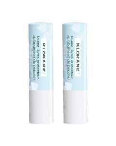 Klorane Baume Lèvres Protecteur 2x4g