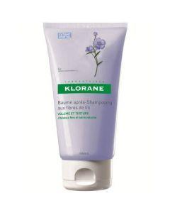Klorane Capillaire Baume Apres-shampooing Aux Fibres de Lin 150ml