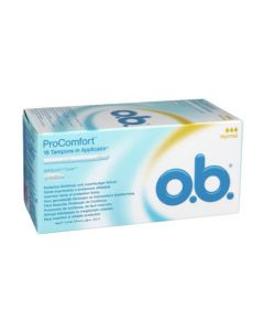 O.b Pro Comfort Normal Avec Applicateur 16 Tampons