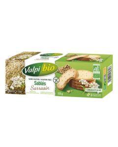 Valpi Bio Sablés Sarrasin Sans Gluten 125g