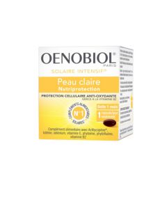 Oenobiol Solaire Intensif Nutriprotection Peaux Claires 30 Capsules